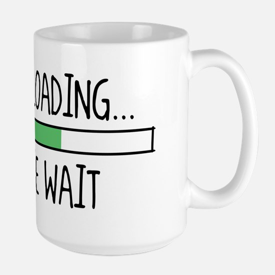 DAIPER LOADING...  ... Large Mug