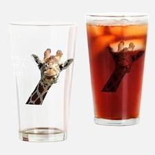 Moo Giraffe Goat Drinking Glass