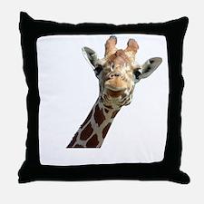 Moo Giraffe Goat Throw Pillow