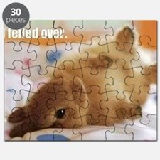 Cute bunny fell over  Puzzle