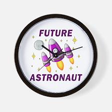 Future Astronaut (Girl) Wall Clock