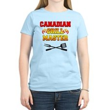 Canadian Grill Master Apron T-Shirt