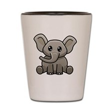 Elephant Shot Glass