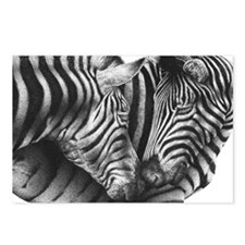Zebras Pillow Case Postcards (Package of 8)
