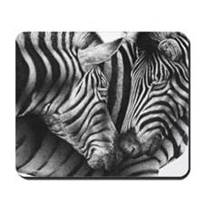 Zebras Pillow Case Mousepad