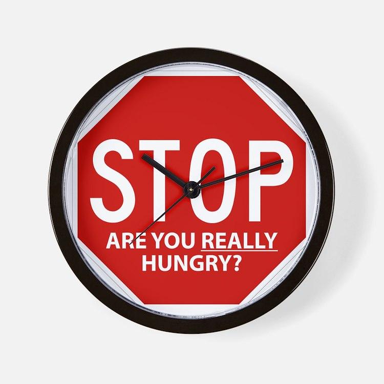 Diet Motivation Mag... Wall Clock