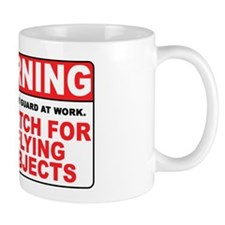 Flying Objects, Red Mug
