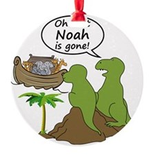 Oh Shit, Noah is Gone Ornament