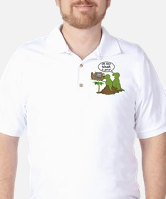 Oh Shit, Noah is Gone Golf Shirt