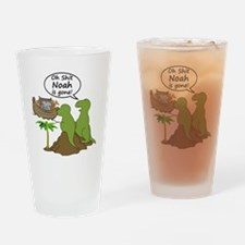 Oh Shit, Noah is Gone Drinking Glass
