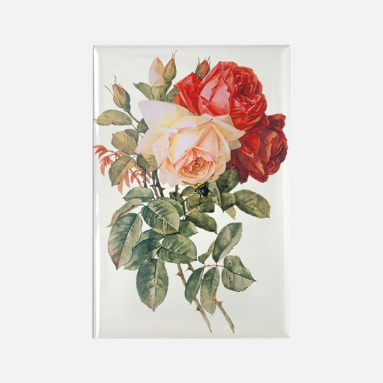Three Roses Rectangle Magnet