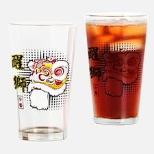 Futsan Lion Drinking Glass