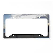 sun rise License Plate Holder