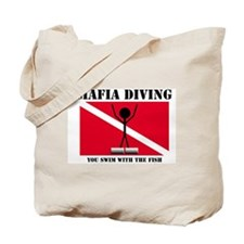 italy Mafia Mob Diving Tote Bag