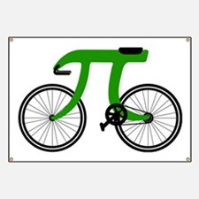Pi Bike green Banner