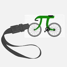 Pi Bike green Luggage Tag