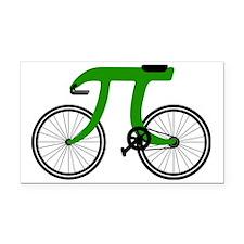 Pi Bike green Rectangle Car Magnet