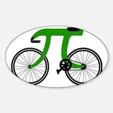 Pi Bike green Decal