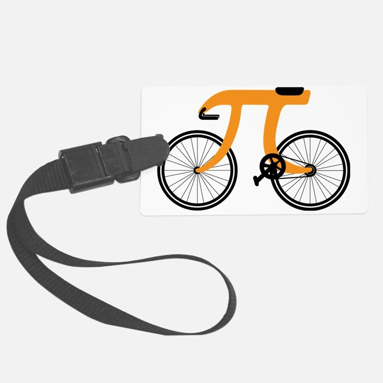 Funny Bicycle 3.14 Luggage Tag