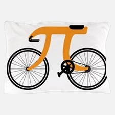 Funny Bicycle 3.14 Pillow Case