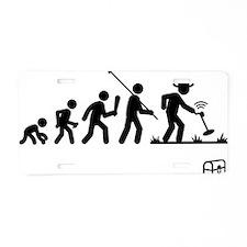 Metal-Detecting-AAF1 Aluminum License Plate