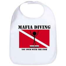 italy Mafia Mob Diving Bib