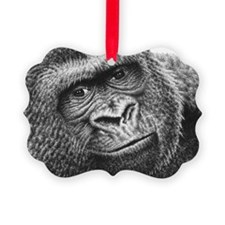 Gorilla Wall Decal Ornament