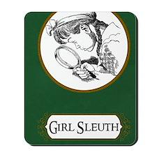 Girl Sleuth Journal Mousepad
