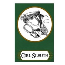 Girl Sleuth Journal Postcards (Package of 8)