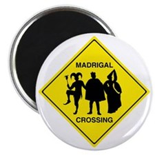 Madrigal Crossing Magnet