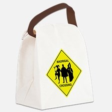 Madrigal Crossing Canvas Lunch Bag