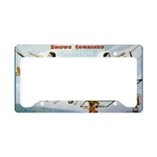 circus License Plate Holder