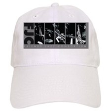 Friends Jazz Consortium in Grayscale Baseball Cap