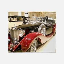 1938 Classic MG Tour Throw Blanket