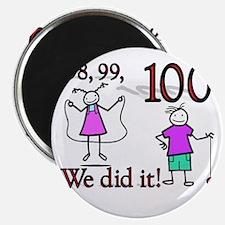 100th Day YoYo Magnet