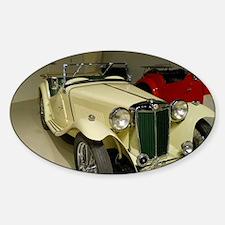 1946 MG Car Decal