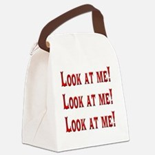 Look at Me! Canvas Lunch Bag