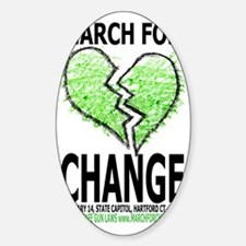 March For Change Decal
