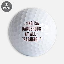 Flying Isnt Dangerous Golf Ball