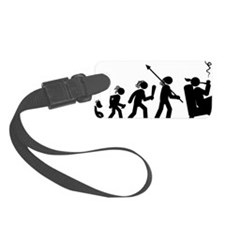 Pipe-Smoking-AAH1 Luggage Tag