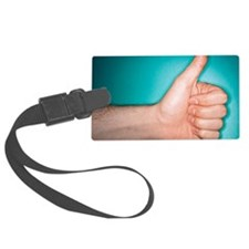 Thumbs up sign Luggage Tag