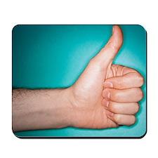 Thumbs up sign Mousepad