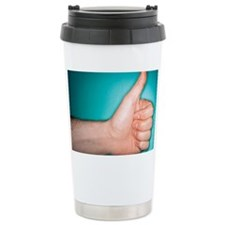 Thumbs up sign Travel Mug