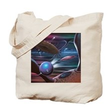 Alien life forms, artwork Tote Bag