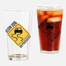 blow job Drinking Glass