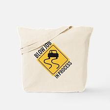 blow job Tote Bag