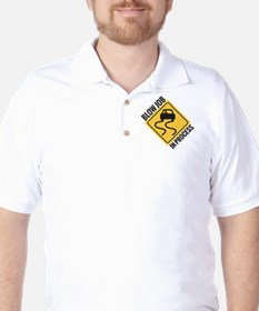 blow job Golf Shirt