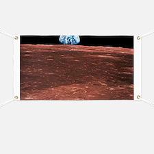 Earth rising Banner