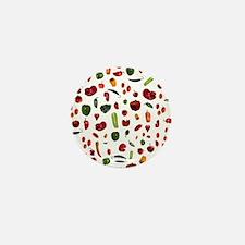 Chili Peppers Mini Button