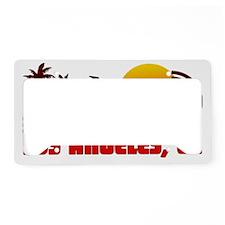 Los Angeles, California License Plate Holder